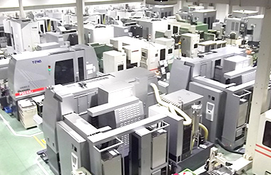 production line with ultra-precision processing